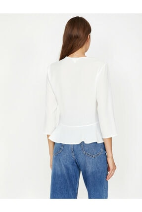 Koton Firfir Detayli Bluz 3