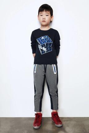 Erkek Çocuk Antrasit Eşofman Altı resmi