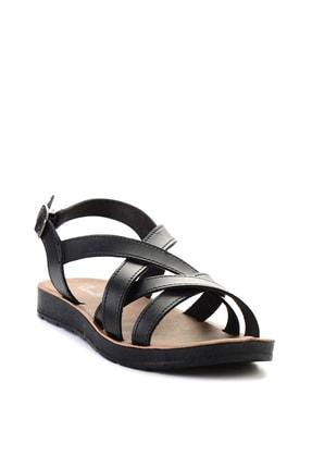 Bambi Sıyah Kadın Sandalet L0642111209 2