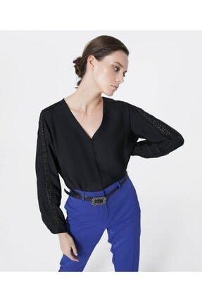 İpekyol Güpür Şeritli Bluz 2
