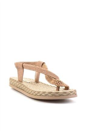 Bambi Bej Kadın Sandalet L0823130016 2
