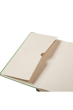 Matt Notebook 13x21 Lastikli Defter Noktalı Bej 2