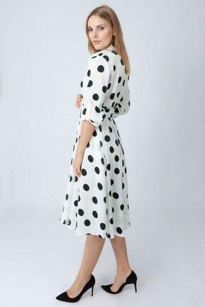NOMENS Kemer Detaylı Puanlı Elbise 1