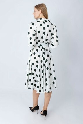 NOMENS Kemer Detaylı Puanlı Elbise 2