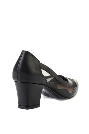 Bambi Siyah Kadın Klasik Topuklu Ayakkabı L07082130 3