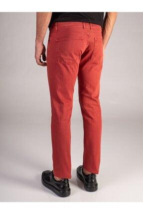 Dufy Nar Çiçeği Düz Likralı 5cep Erkek Pantolon - Regular Fit 2