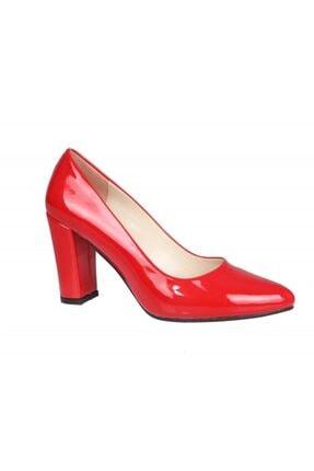 PUNTO 462003 Kırmızı Rugan Kadın Stiletto 1