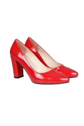 PUNTO 462003 Kırmızı Rugan Kadın Stiletto 4