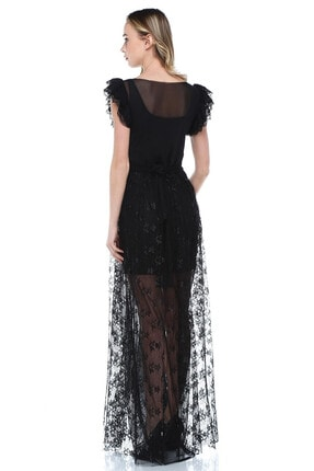 Quincey Dantel-tül Elbise 1