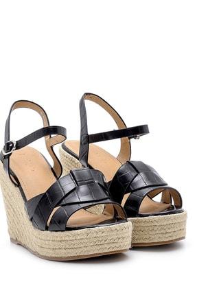 Derimod Kadın Dolgu Topuklu Sandalet 2