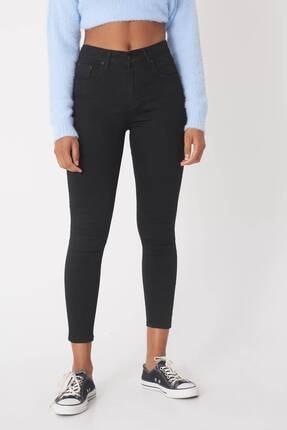 Addax Kadın Siyah Yüksek Bel Pantolon Pn5400 - H8H10 Adx-0000013883 1