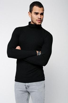 Lafaba Erkek Siyah Triko 3