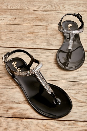 Bambi Siyah Kadın Sandalet L05000245 0