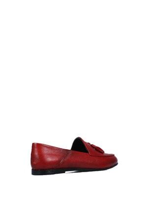 Diego Carlotti 8456 Bayan Kırmızı Günlük Babet 2