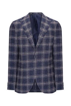 W Collection Lacivert Bukle Blazer 0