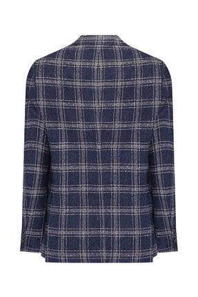 W Collection Lacivert Bukle Blazer 1