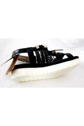 Vicco 928.z.689 Siyah Püsküllü Taşlı Sandalet 2