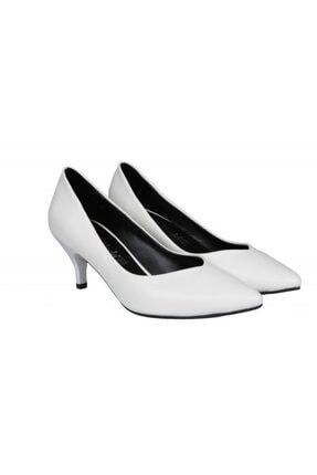 MİSS PARK MODA K613 Beyaz Kadın Stiletto 4