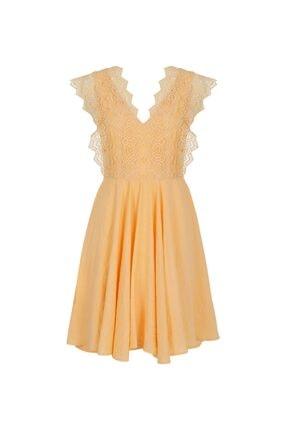 İpekyol Güpür Mixli Elbise 3