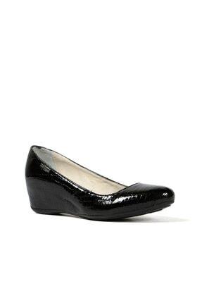 Hammer Jack Siyah Krok Kadın Ayakkabı 171 1000-07-z 1