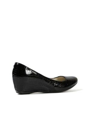 Hammer Jack Siyah Krok Kadın Ayakkabı 171 1000-07-z 2