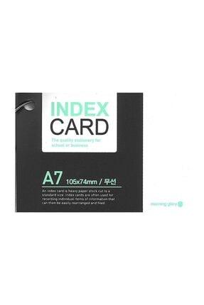 Morning Glory Halkalı Not Defteri - Index Card - 23030-74507 A7 Boy 0