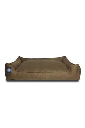 Stella Kahverengi Köpek Yatak Yıkanabilir,fermuarlı,yumuşak Xlarge 1