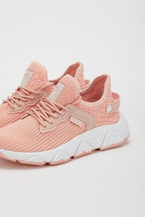 Muggo Unisex  Pembe Sneaker Ayakkabı 3