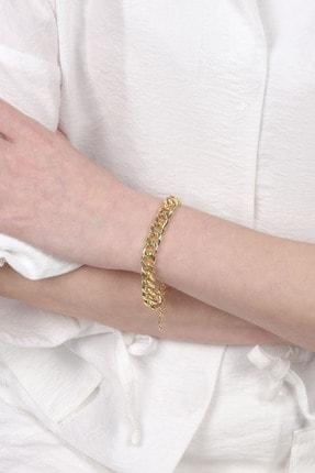 Marjin Kadın Altın Renkli Künye 1