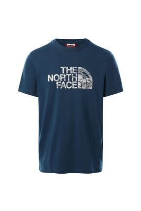 The North Face M S/s Woodcut Dome Tee-eu Nf00a3g1bh71 0