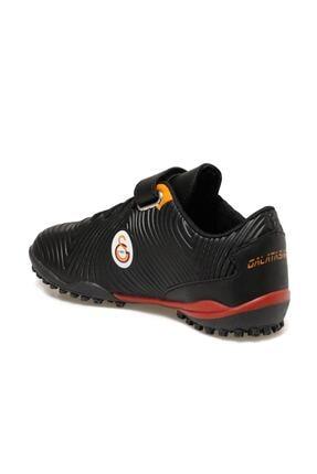 Galatasaray AGRON TURF J GS Siyah Erkek Çocuk Halı Saha Ayakkabısı 100521503 2
