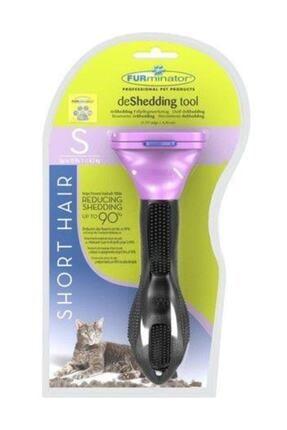 Furminator Tüylü Kediler Için Short Hair Kısa Tüy Tarağı Kedi Trağı S 0