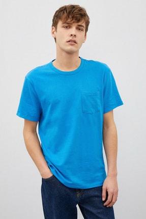 Koton Erkek Mavi T-Shirt 1Yam12317Lk 1