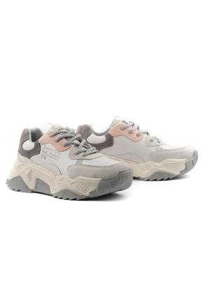 Tripy Kadın Dolgu Taban Günlük Sneaker Ayakkabı 4