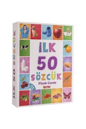 Diytoy 4'lü Eğitim Seti ( Ilk 50 Sözcük + Ilk 50 Hayvan + Ilk 50 Sebze Meyve + Bebeğimin Ilk Zeka Kartları 4