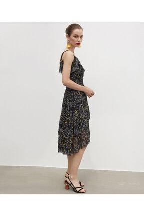 İpekyol Fırfır Şeritli Elbise 0