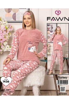 Kadın Polar Pijama Takım 1427