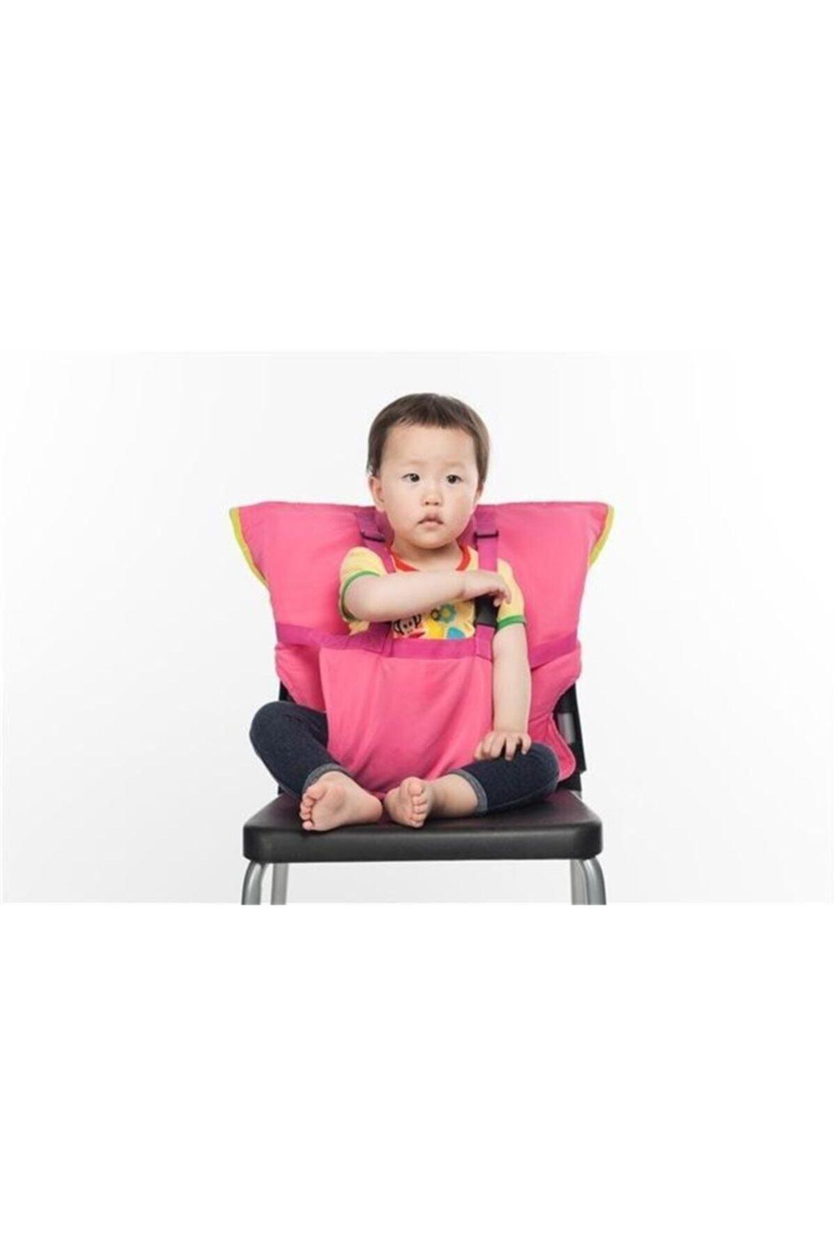 DecoTown Çocuk Bebek Güvenli Mama Sandalyesi Emniyet Güvenlik Kemeri