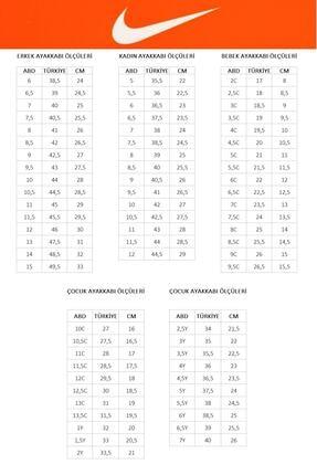 Nike Kadın Siyah Wearallday Spor Ayakkabı Cj1677-002 3