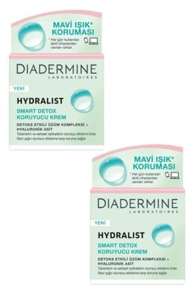 Diadermine 2'li Hydralist Smart Detox Koruyucu Krem 50 ml 0
