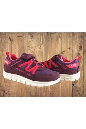 KAS Unısex Bordo Poliüretan Rahat ve Sağlıklı Taban Günlük Spor Ayakkabı 1