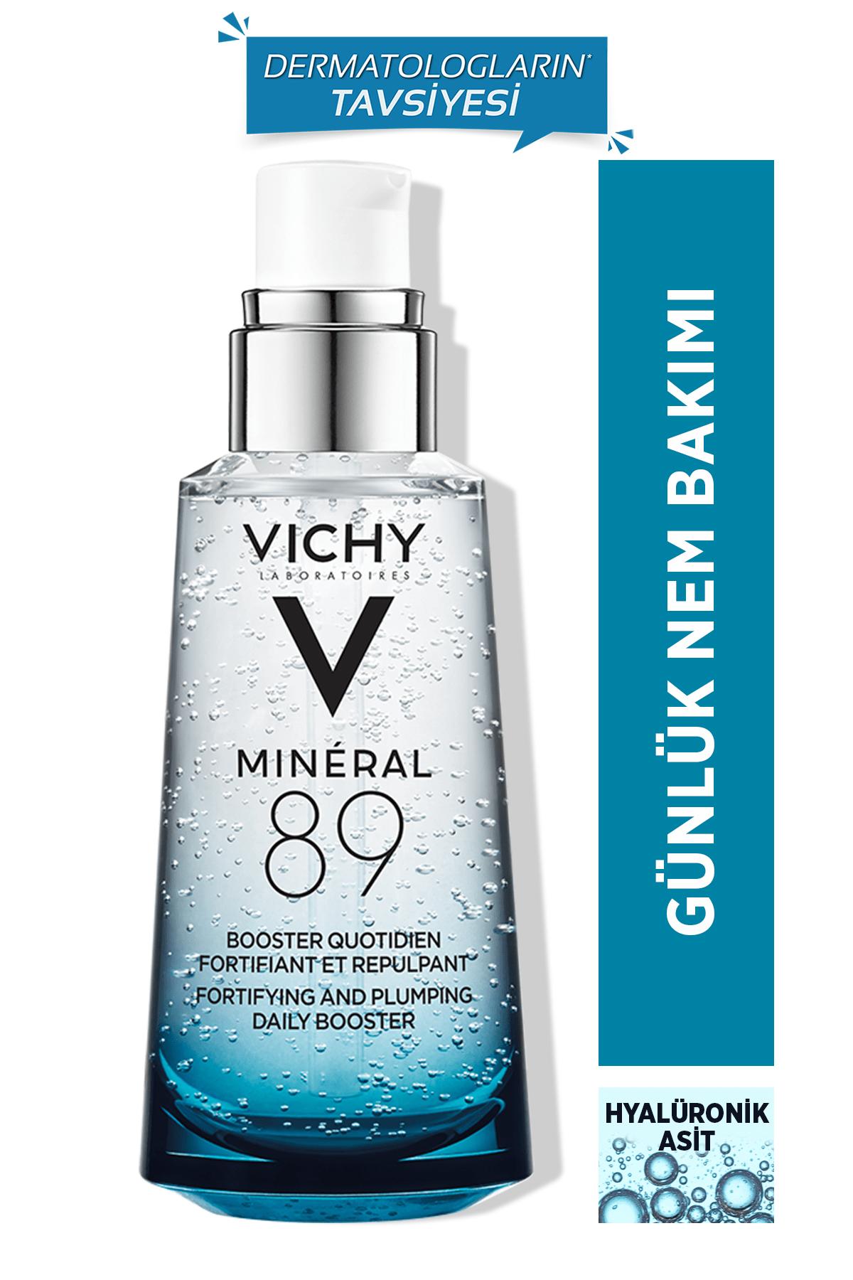 Vichy Mineral 89 Nemlendirici Serum Hyalüronik Asit Gunluk Nem Bakımı 50 ml 3337875543248 0