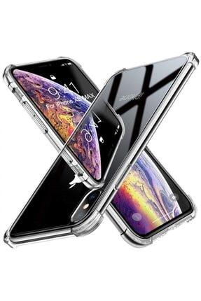 Zengin Çarşım Iphone Xs Max Ultra Ince Şeffaf Airbag Anti Şok Silikon Kılıf 1