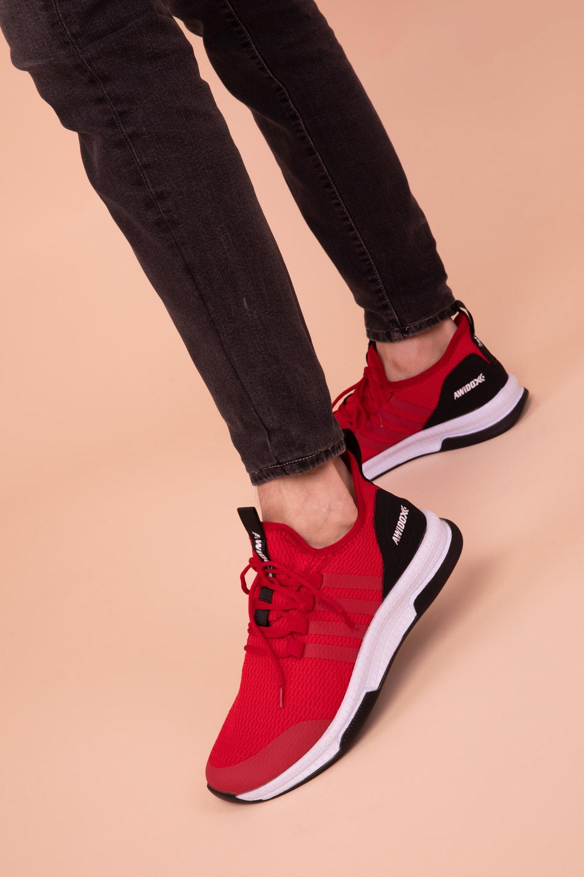 Kırmızı Erkek Sneaker 3033