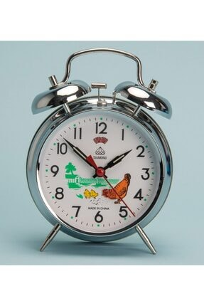 Çalar Saat Tavuklu Saat Masa Saati Nostaljik Kurmalı Masa Saati 345435