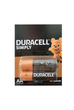 Duracell Aa Kalem Pil 2'li Paket 0