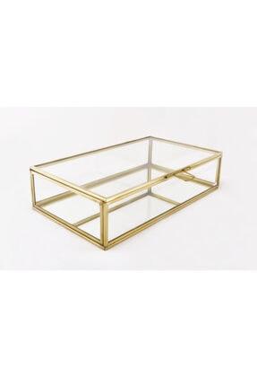 EsaDesign Cam Gold Takı Nişan Aksesuar Kutusu 1