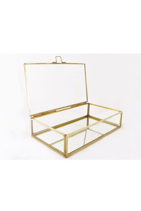 EsaDesign Cam Gold Takı Nişan Aksesuar Kutusu 2