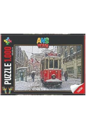 Puzzle 1000 Parça Taksim Istiklal Caddesi Puzzle 1000 Parça PZL1003