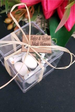 Gulertasarim Çifte Kumru Kuş Mika Kuşlar Kuş Kafesi Söz Kina Nikah Şekeri Bebek Şekeri Hediyelik Paket 30 Adet 2